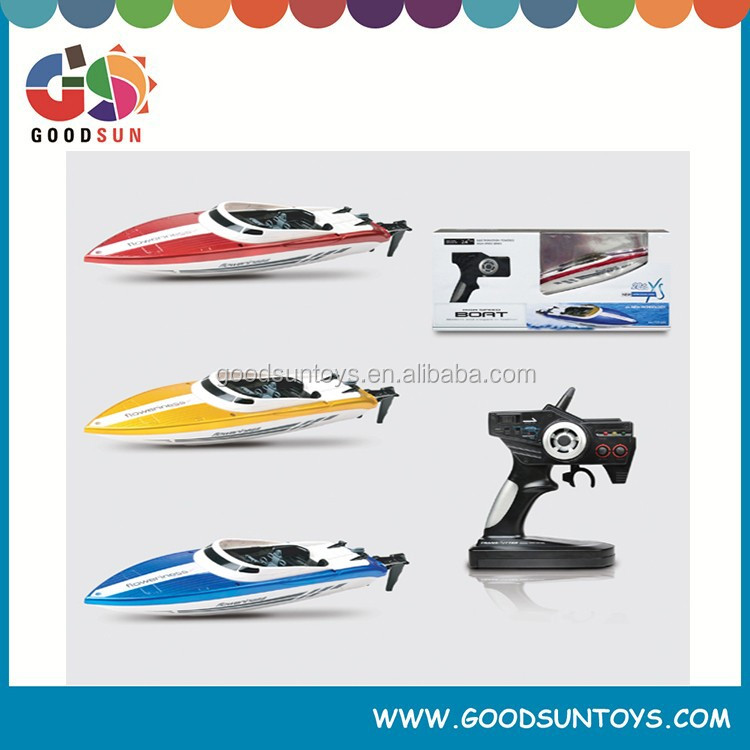 Free shipping rc fishing boats for sale New 2.4Ghz Power high speed rc boat for sale w/charger 030131