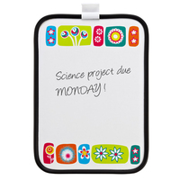 Plastic magnetic fridge whiteboard