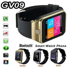 Bluetooth new android 4.4 bluetooth smart watch phone gv09