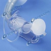 CE&ISO Approved Size 6 mm Uncuffed Tracheostomy Tube