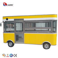 Hot Sale Mobile Kitchen / Catering Food Trailer camper van,ice cream food vendor