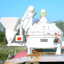 Top Selling Teka 1 Yard Planetary Concrete/Cement/Refractories Mixer for Sale TPZ3750