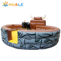 Inflatable Mechanical Bull Riding Toys for Kids and Adults, PVC Bouncer Inflatable Bullfighting Machine