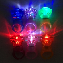Best selling promotion gifts led flashing ring lights