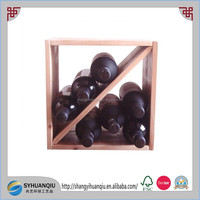 Storage Holders & Racks Type and Wood Material Wine curve holder-cn