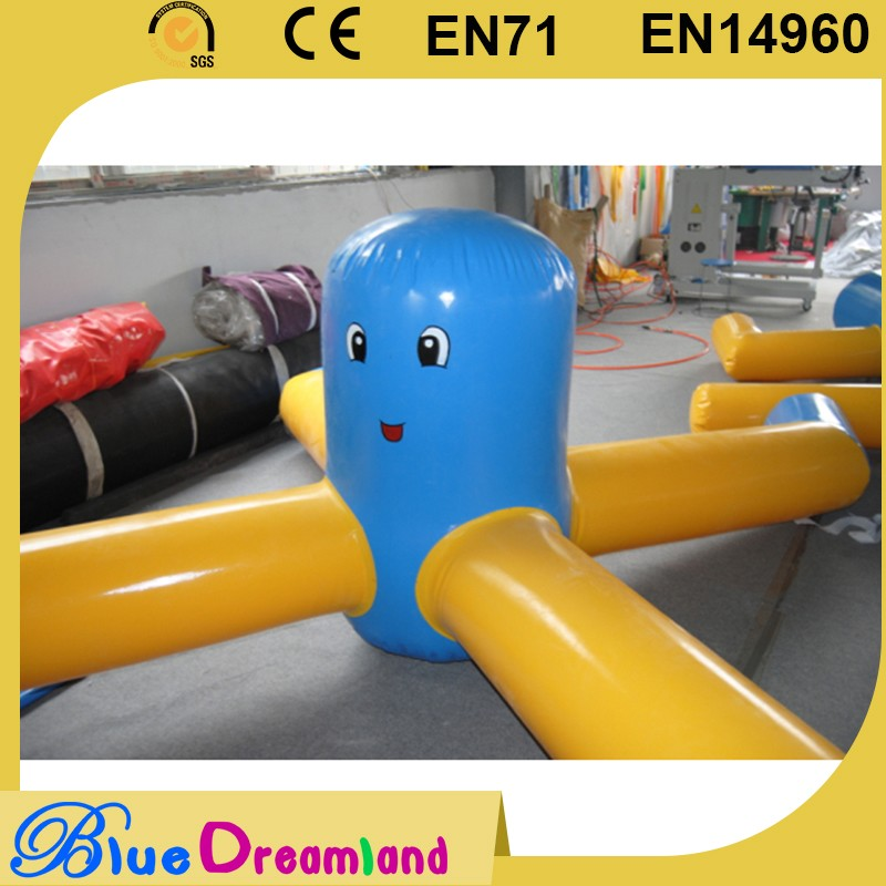New fashion used inflatable floating lake park for wholesales