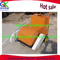 construction equipment diesel hand push concrete cutter