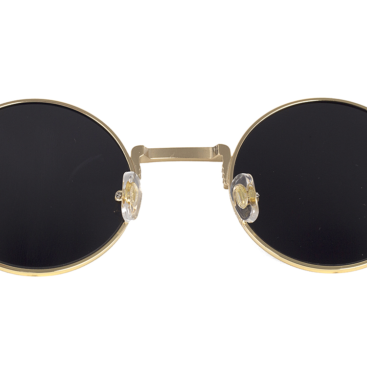 Pro Acme John Lennon Metal Spring Frame Round Steampunk Sunglasses Clear Lens Available PA8010