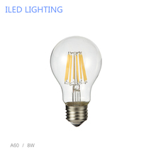 Retro LED Filament Light lamp E27 2W 4W 6W 8W 110V / 220V G45 A60 Clear Glass shell vintage edison led bulb
