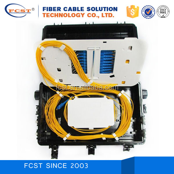 FTTH Horizontal type 12 Fiber Splicing Closures for Outside Plant OSP FCST01122