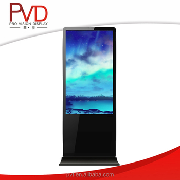 55 inch advertising lcd tv display