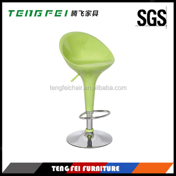 Certificared Bar stool with SGS gas lift and 385mm chroming base!