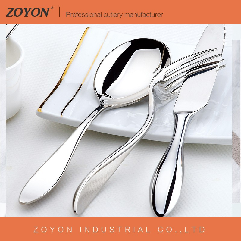 NO MOQ stock cheap bulk metal spoon stainless steel flatware