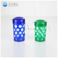 wholesale insulated plastic water bottle glass look plastic cup drinking bottles plastic sports water bottle