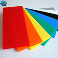 4x8 raw material flatbed different color corrugated plastic sheet
