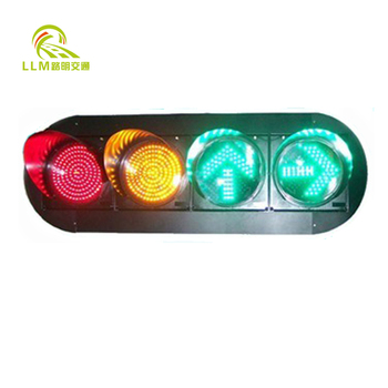 Professional trafic light with solar yellow traffic signals solar robot