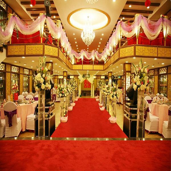 Red Carpets For Weddings Wedding Aisle Runner Carpet Hall A1001