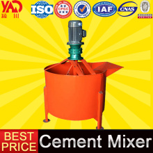 Small Construction Equipment Portable Concrete Mixer With Plastic Drum