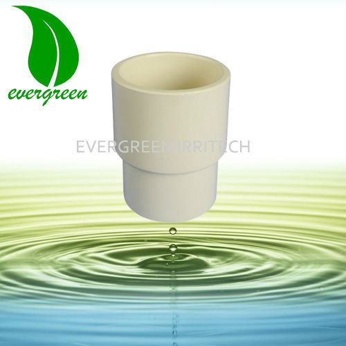 CPVC eccentric reducing coupling
