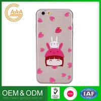 Custom Oem Cell Phone Case Eco-Friendly Unique Design Tpu Phone Case For Iphone 6 Plus Case