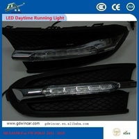 12v e4 Eagle Eyes Durable Excellent Led Car Driving Light For VW POLO 2011 - 2013 OUTSEA