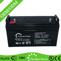Sealed Maintenance Free 12 volt deep cycle batteries 120ah with best price