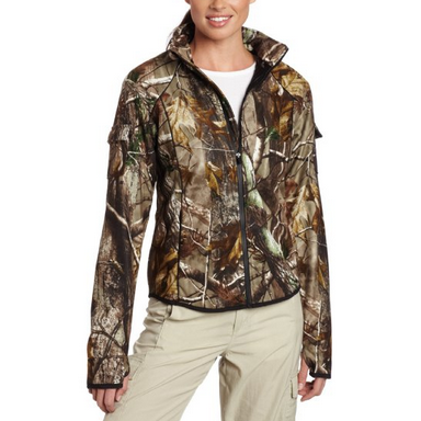 Women Winter Camo Hunting Jacket