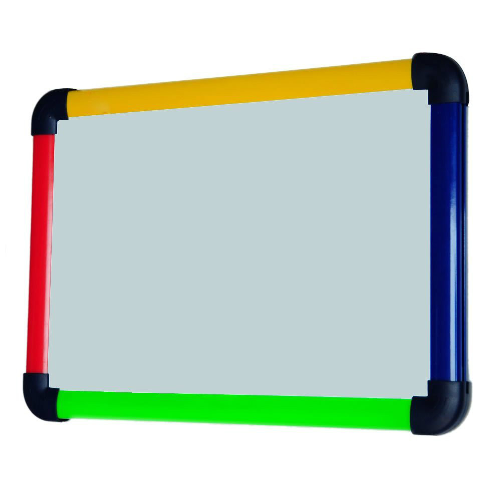 VIZ-PRO Children Boards/Colourful Magnetic Dry Erase Double-sides Whiteboard-A4