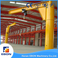 Crane for Sale China Supplier BZ Type Floor Mounted 3 ton Jib Crane