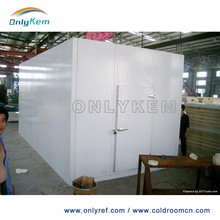 Simple installation PU wall panel cold room, walk in coolers and freezers