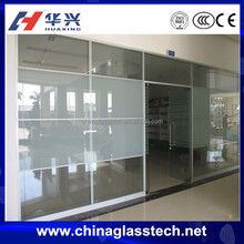 Aluminum Frame Tempered Glass sliding doors interior room divider