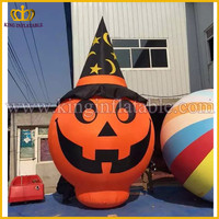 Popular Cheap Halloween Decoration Product Inflatable Pumpkin Cartoon