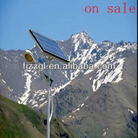 13 years producer Europe Standard solar flag pole light