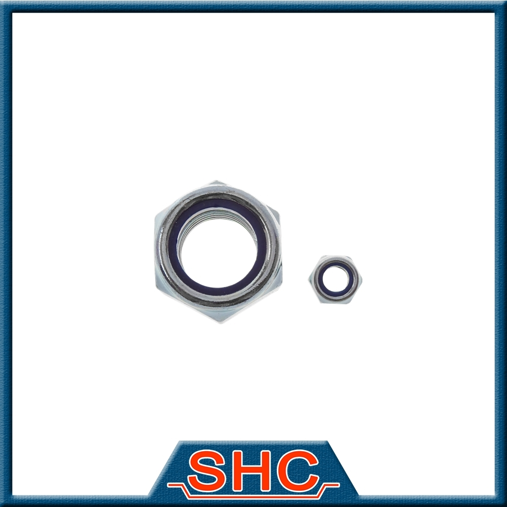 Customized Round Exhaust Nickel Groove Lock Nut