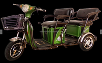 China Top electric tricycles for hot sale - L7/Tuk tuk smart electric scooter with 3 wheel