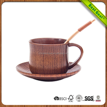 Hot selling Factory wholesale handcrafted mini wooden coffee cup