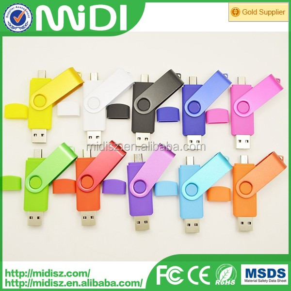 New Arrival OTG Smartphone USB Flash Drive 32GB, mobile phone usb,cellphone USB Flash Disk
