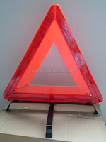 Roadblock Flashing Warning Triangle/ Reflective roadway safety triangle sign