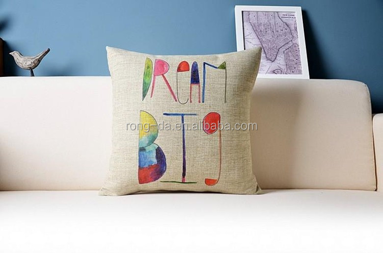 Geometric Decorative Pillows Colorful cushion factory