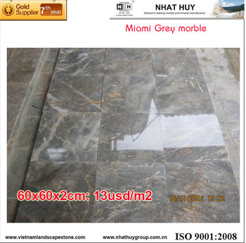 Cheap marble Miami marble grey