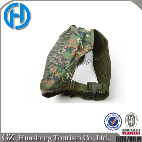 military/police/war game/ Army woodland mask with metal mesh