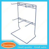 counter top wire keyring display stand