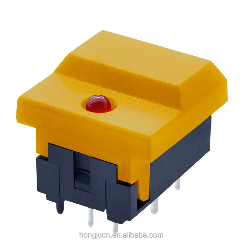 Low voltage 12mA illuminated push button switch surface mount(PB86)