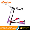 Wholesale Mini kids kick scooter / foldable portable 3 wheel children scooter / PU wheels kids swing scooter