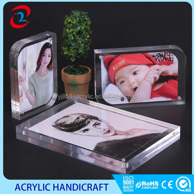 acrylic magnetic frames 4x6_Yuanwenjun.com