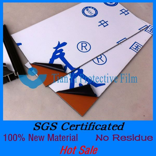 SGS Certificated no residue easy peel universal testing machine plastic film