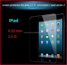 new products 0.33mm tempered glass screen protector for 7 inch tablet