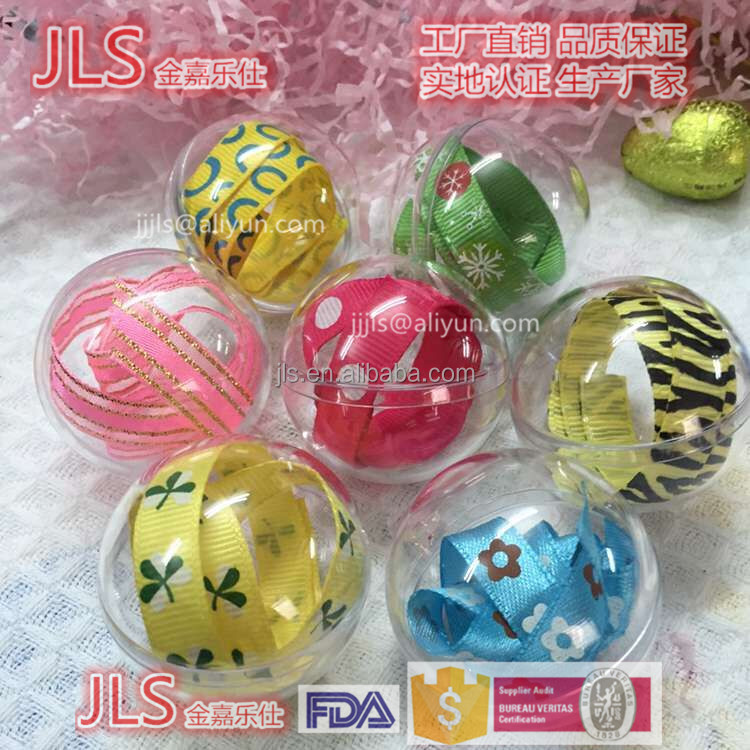 cute Dia40mm to 200mm acrylic ball for packing boxes