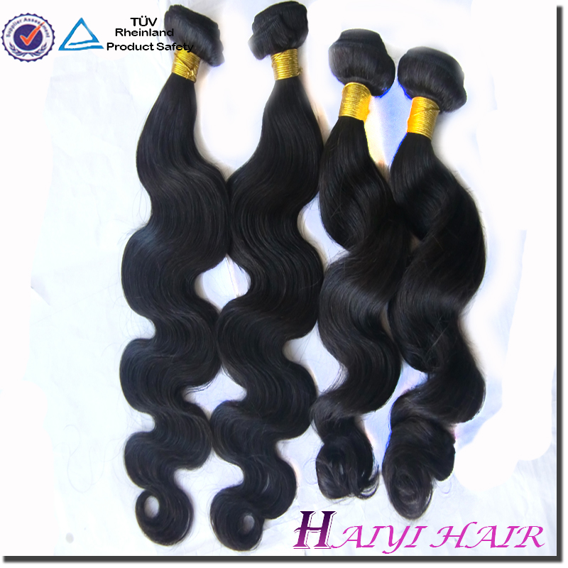 Wholesale Popular Natural Color 20 Inch Virgin Remy Brazilian Hair Weft