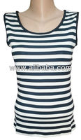 Black white striped t-shirts